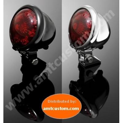 Feux arrière Stop Bobber Hold Skool LED  Dispo en Noir ou Chrome