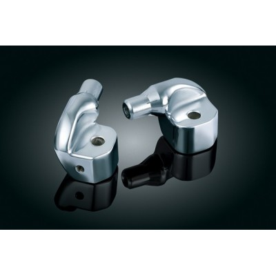 2 Adapters Footpegs Rear Can Am