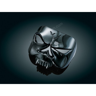 Black Cover Skull Zombie Taillight Harley Motorcycles