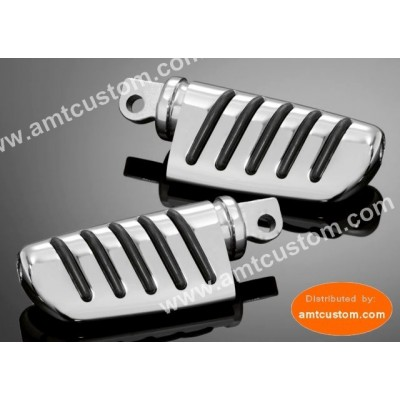 Kawasaki repose-pieds moto chrome Passenger for VN