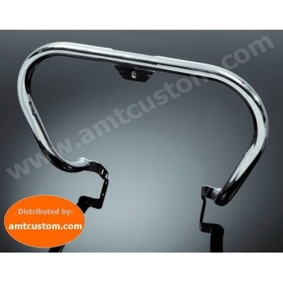 Harley Pare-cylindre Chrome - Pare jambes Dyna et Softail - Diamètre 38 mm