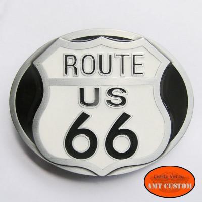 Boucle Biker Ceinture Route 66