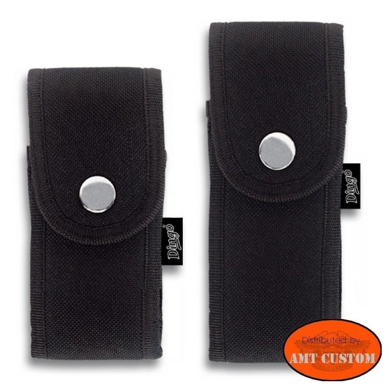 Pocket knife case for belt custom biker chopper