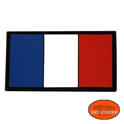 French Flag Patch Biker jacket vest  harley custom chopper