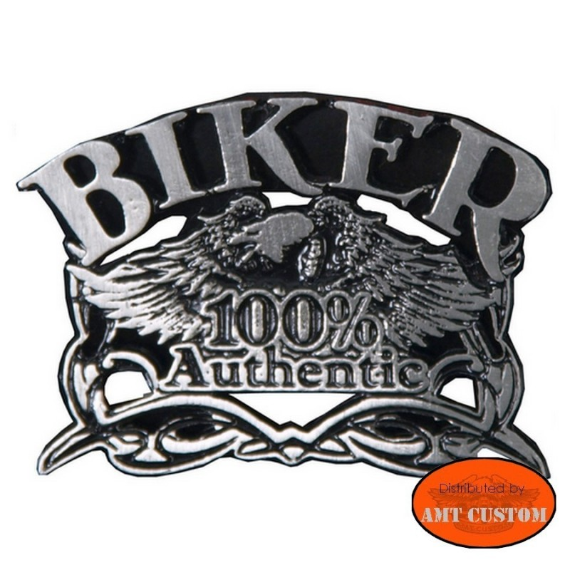 Badge 100% biker Eagle Pin biker custom kustom for vest jackets harley trike