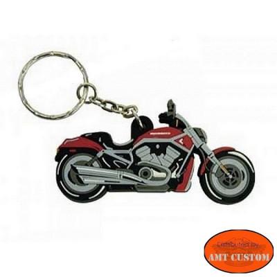 Porte clés moto custom V-Rod Harley Davidson pas cher pour clefs bikers moto custom harley trike