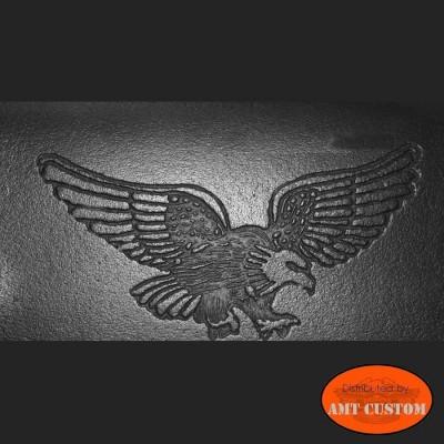 Leather wallet Biker Eagle Harley