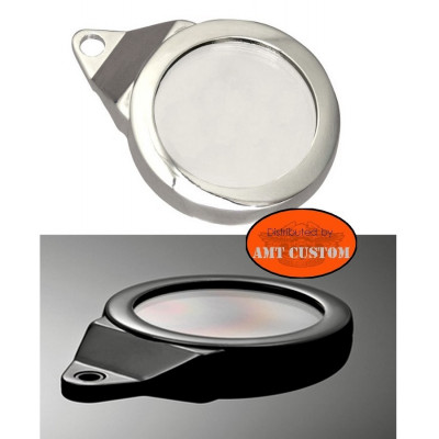 Chrome or black Aluminium Tax Disc Holder LUXE