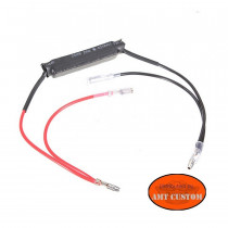 Resistor for turn signal LED motorcycles