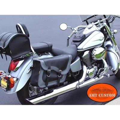 Harley Saddlebag Support Brackets mono attachment