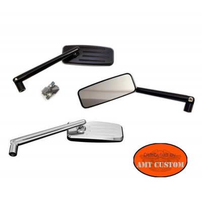Rectangular Mirror orientable Agila Universal motorcycles