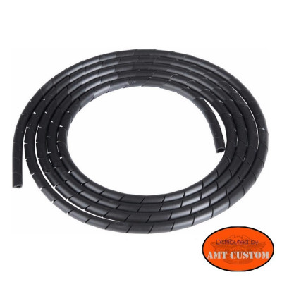 Universal black Cable Cover motorcycle