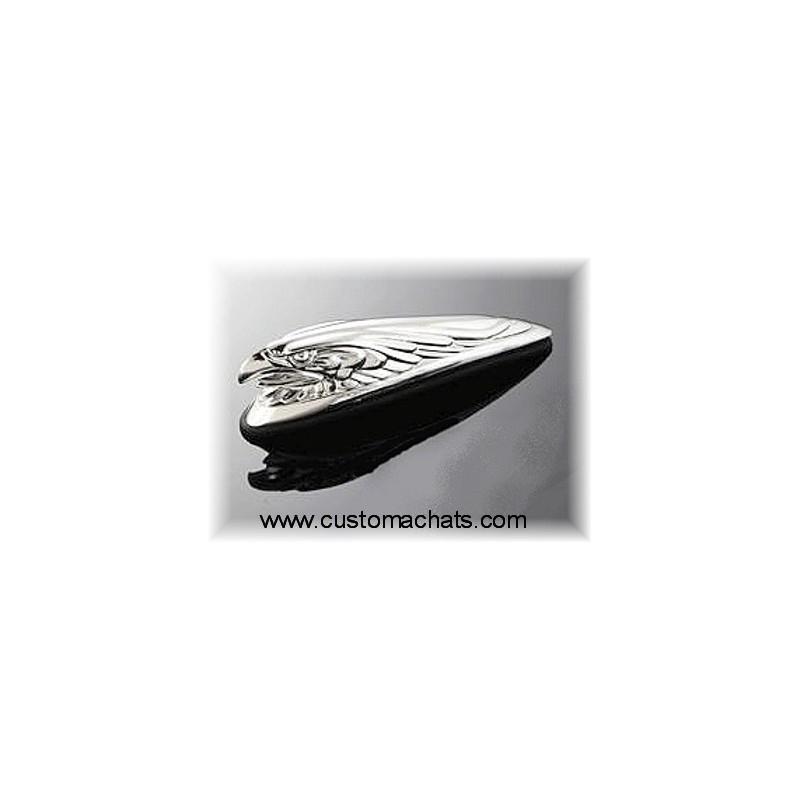 Emblem ornament chrome fender eagle Moto Custom
