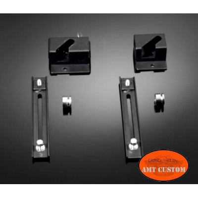 Saddlebags support Kits Quick release System motorcycle.
