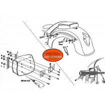 Notice de montage kit rapide support montés sur sacoches Moto Custom - Montage et démontage rapide avec serrure à clés