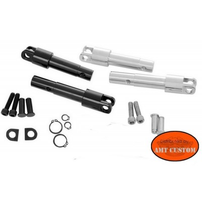 Sportster Kit conversion Footpegs for Sportster XL 1200C 1200X 1200V Harley Custom, Forty-Eight, Seventy -Two de 2012 à 2015
