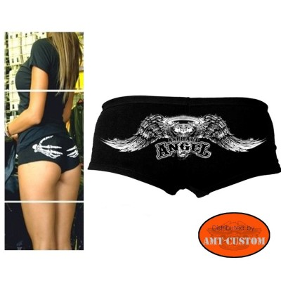 Ladies Biker Short Angel VTwin