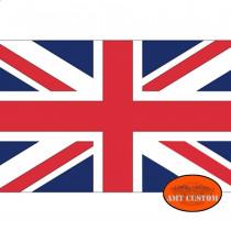 Drapeau fanion Anglais UK moto trike LUXE