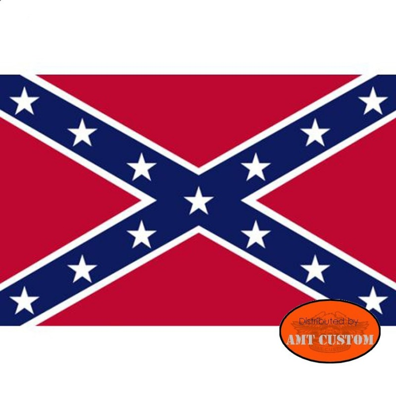 Drapeau fanion confédérés US