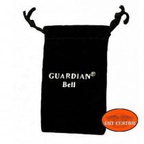 Pochette étui écrin Clochette Skull ailé porte-bonheur moto Guardian Bell