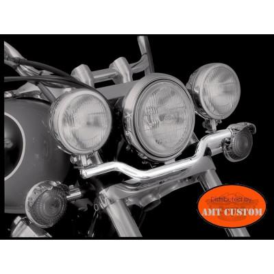 Sportlight Bracket chrome Honda - Yamaha - Suzuki - Kawasaki