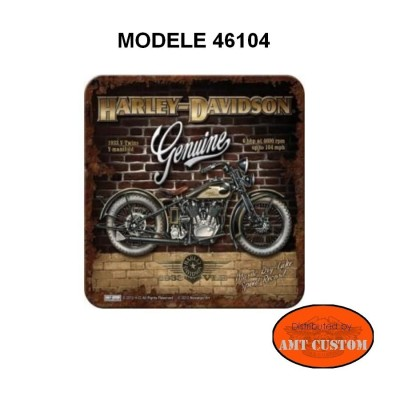 Sous-verre Harley Davidson accessoires moto custom luxe