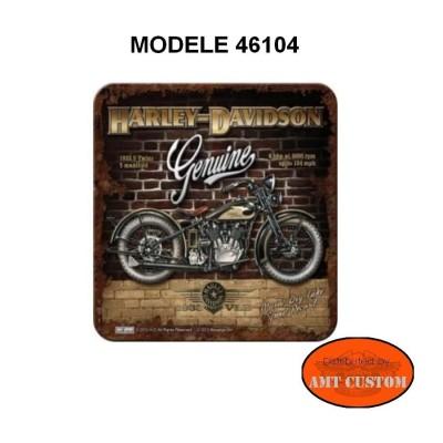 Sous-verre Harley Davidson accessoires moto custom luxe