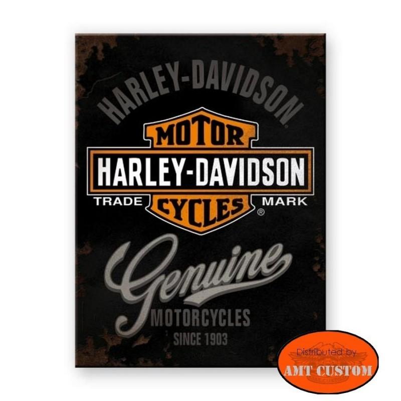 Magnet Harley Davidson Original Custom moto aimant original