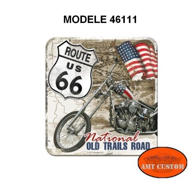 Harley Davidson and Route 66 Route 66 Coaster coasters