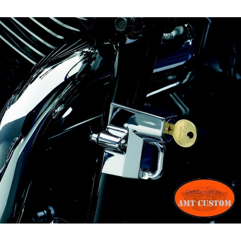 Cadenas anti-vol moto casques chrome tube cadre moto de 22 à 38mm
