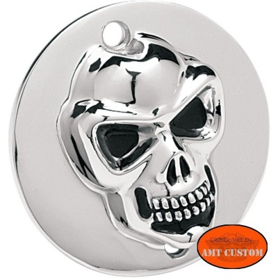 Sportster Skull Points Cover Chrome XL883 and XL1200
