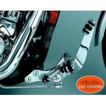 Dyna Kit commandes avancées chromes Harley FXD Street Bob, Low Rider, Wide Glide, ...