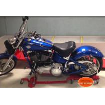 Moto Custom Chariot déplacement - Parkingmoto roulant