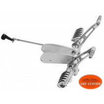Sportster Forward Controls chrome Harley XL 883 et 1200  Custom - Iron - Forty Eight - SuperLow - Seventy Two