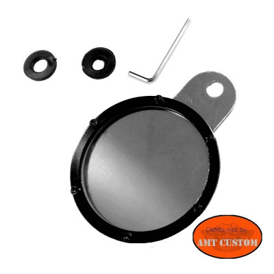Chrome and black Tax Disc Holder