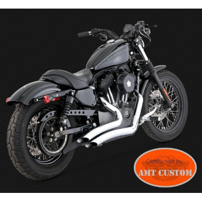 Sportster Big Radius Chrome spécial Harley XL833 - XL1200 - Custom - Iron - Forty Eight - Seventy two - Super Low