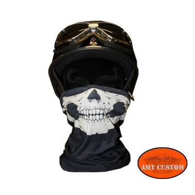 Foulard Tube Skull cache nez protection moto biker biker chopper bobber trike moto accessoires