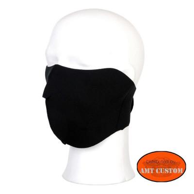 Masque néoprène moto Noir