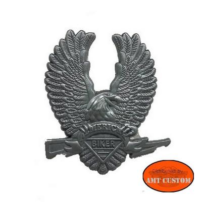 American eagle pin's biker jacket vest