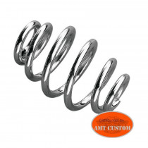 Ressort selle solo Old School chrome - Old School Bobbers, Choppers Harley Davidson