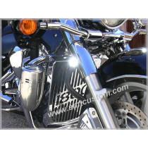 Siren mototorcycle trike 12V - US Police America chrome