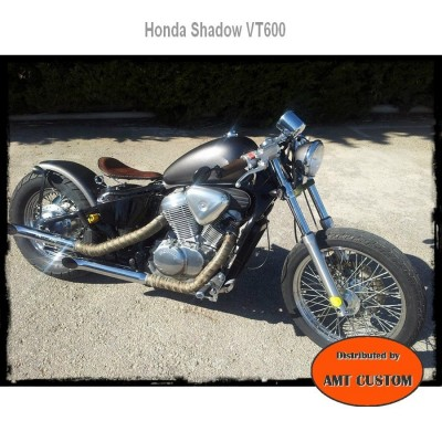 Selle solo cuir noire Harley Davidson choppers
