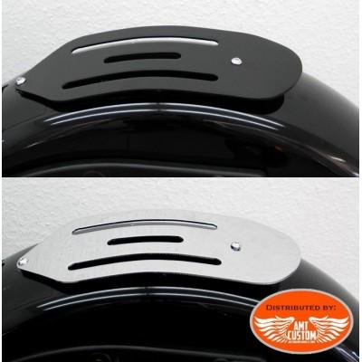 Harley Softail Rack porte-bagage Solo Chrome ou Noir FLS FXS