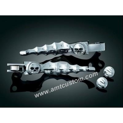 Skull Brake levers and Clutch for motorcycle Harley-Davidson custom biker