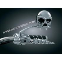 2 Leviers Tête de Mort - Skull pour Honda pour moto custom