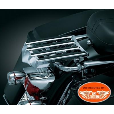 Harley Electra Glide Rack porte-bagage chrome FLHT FLHR FLTR FLHX