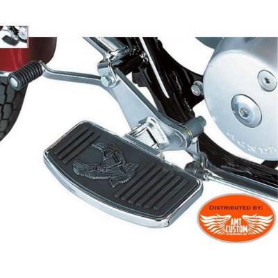 repose piedsmarche pieds universel moto custom Honda Yamaha Kawasaki Suzuki ...