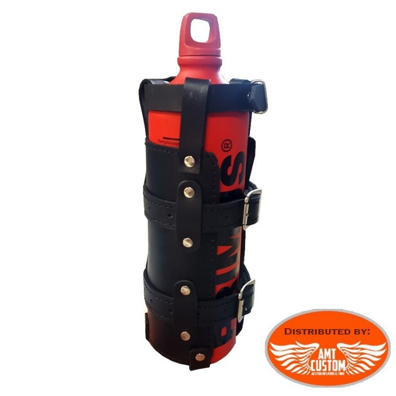 Leather Carrying case  for Fuel gasol jerrican motorcycle