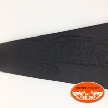 Ceinture cuir Aigle Hells-Design Noir