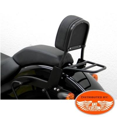 Softail Passenger Sissy Bar Black for FLS Slim and FXS Blackline Harley Davidson
